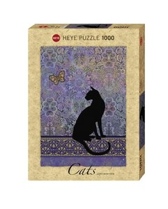 Cats Silhouette Puzzle 1000 Teile