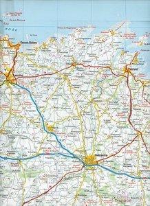 KuF Frankreich Regionalkarte 01 Bretagne 1 : 180 000
