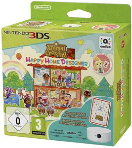 Animal Crossing: Happy Home Designer inklusive 3DS-NFC-Lese-/Sc