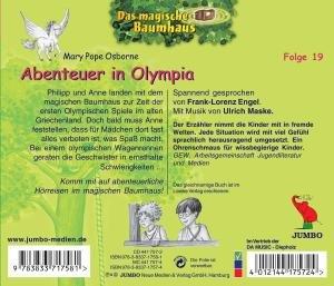 Das magische Baumhaus 19. Abenteuer in Olympia. CD