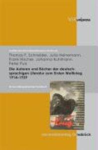 Die Autoren und Bücher der deutschsprachigen Literatur zum 1. We