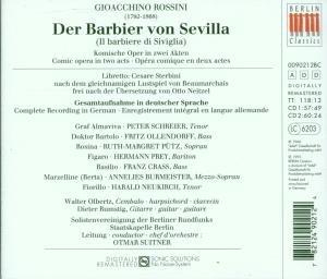 Der Barbier Von Sevilla (GA/Deutsch)