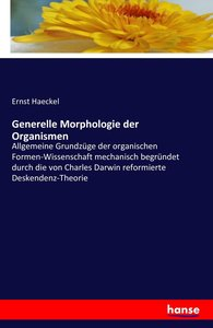 Generelle Morphologie der Organismen