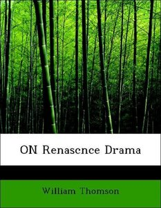 ON Renascnce Drama