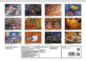 Fabelhafte Wesen Tibets 2017 (Wandkalender 2017 DIN A3 quer)