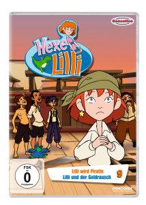 Hexe Lilli 09-Lilli wird Piratin/Lilli un (DVD)
