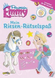 Prinzessin Emmy und ihre Pferde - Mein Riesen-Rätselspaß