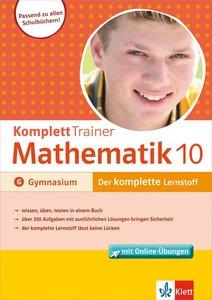 KomplettTrainer Gymnasium Mathematik 10. Klasse