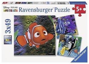 DFN: Im Aquarium. Puzzle (3 x 49 Teile)