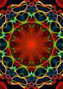 Mandala - Esoterik & Meditation (Posterbuch DIN A2 hoch)