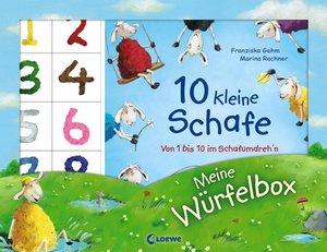 Meine Würfelbox - Zählen und spielen mit 10 kleinen Schafen