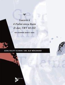 Concerto à 4 Violini senza Basso D-Dur