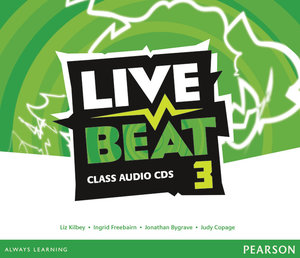 Live Beat 3 Class Audio CDs