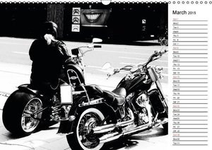 Biker and Bikes / UK-Version / Geburtstagskalender (Wall Calenda