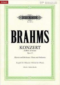 Konzert Nr. 1 d-Moll op. 15 für Klavier und Orchester, Ausgabe f