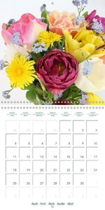 Beautiful Bunches (Wall Calendar 2016 300 × 300 mm Square)
