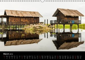 Myanmar - Impressions (Wall Calendar 2015 DIN A3 Landscape)