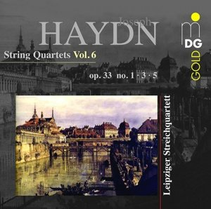 Vol. 6 Streichquartette op. 33,1,3,5