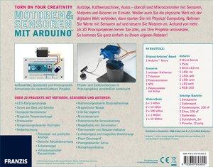 Franzis Maker Kit Sensoren und Motoren mit dem Arduino