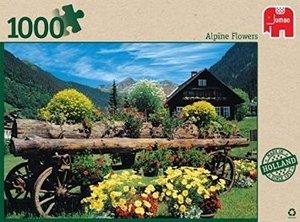 Alpenblumen - 1000 Teile