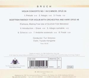 Bruch,Max-Violinkonzert 1/Schottische Fantasie