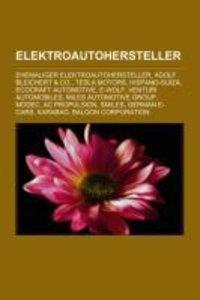 Elektroautohersteller