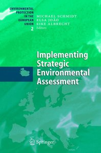 Implementing Strategic Environmental Assessment