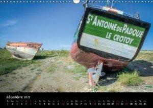 La côte picarde (Calendrier mural 2015 DIN A3 horizontal)