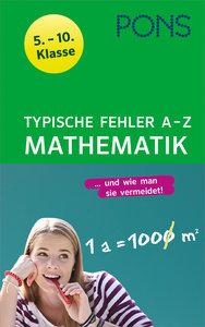 PONS Typische Fehler A- Z Mathematik
