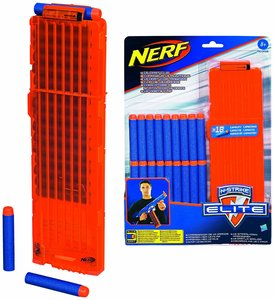 Hasbro A0356 - Nerf N-Strike Elite: 18 Dart Clip-System