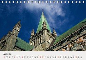 Auf dem Weg zum Nordkap (Tischkalender 2016 DIN A5 quer)