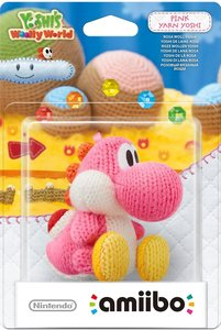 amiibo Yoshis Wooly World - Pink Yarn Yoshi, Rosa Woll-Yoshi