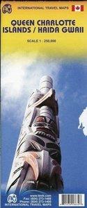 Queen Charlotte Islands / Haida Gwaii 1 : 250 000