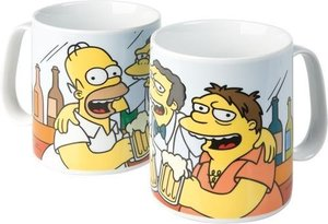 "The Simpsons - XXL Tasse ""Homer & Freunde"""