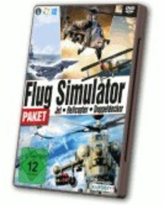 Flugsimulator Paket - Jet, Helicopter, Doppeldecker