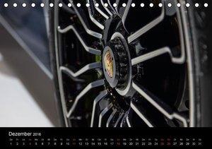 Heiligs Blechle - Porsche-Ikonen im Detail (Tischkalender 2016 D