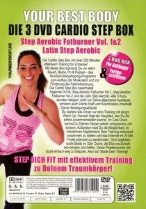 Your Best Body/3 DVD Cardio Step Box