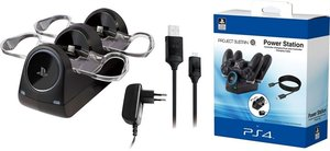 PROJECT SUSTAIN PS4 Power Station inkl. EU Power Adapter (Sony L