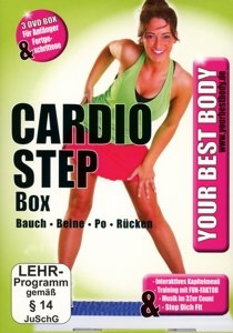 Your Best Body/3 DVD Cardio Step Box