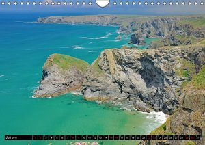 Cornwall und Wales (Wandkalender 2017 DIN A4 quer)