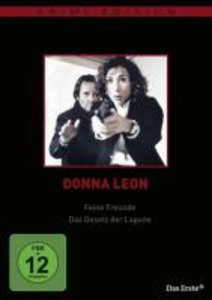 Donna Leon: Feine Freunde / Das Gesetz der Lagune (Krimiedition