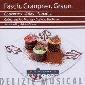 Fasch,Graupner,Graun: Konzerte-Arien-Sonaten