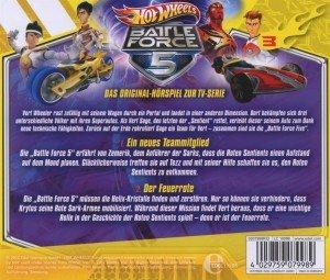 Hot Wheels/Battle Force 5: (3)HSP z TV-Serie