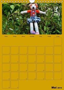 Welt der Häckelfiguren (Wandkalender 2016 DIN A4 hoch)