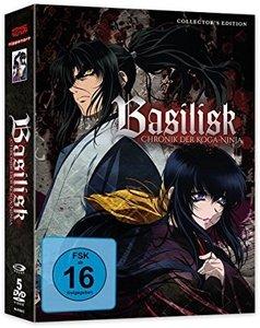 Basilisk - Gesamtausgabe - DVD Box (5 Discs)