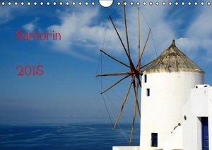 Hofmann, W: Santorin (Wandkalender 2015 DIN A4 quer)