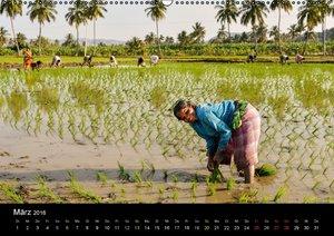 INDIEN bei der Arbeit (Wandkalender 2016 DIN A2 quer)