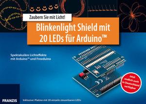 Arduino Shield Blinkenlight mit 20 LEDs