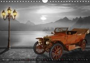 Vintage cars on travel (Wall Calendar 2015 DIN A4 Landscape)