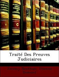 Traité Des Preuves Judiciaires